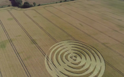 Winterbourne Bassett CROP CIRCLE [VIDEO]