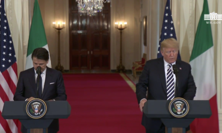 President Trump Hosts a Joint Press Conference with the Prime Minister of the Italian Republic [VIDEO]