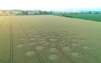 July 2018 Had Some of The Most Dynamic Crop Circles We've Ever Seen [VIDEO]