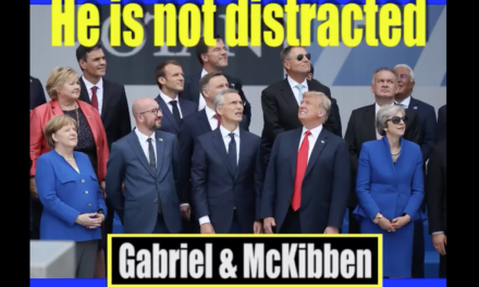 Trump is not distracted. He is on a mission. [VIDEO]