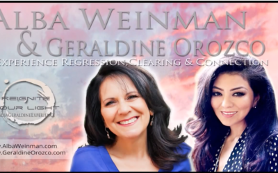 Alba Weinman & Geraldine Orozco Event – Experience Regression, Clearing & Connection [VIDEO]