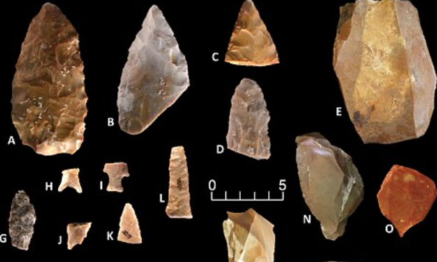 Mainstream science pushed back the date for humans in North America: Discovery of 150,000 'unique' stone tools suggest humans already lived on the continent 20,000 years ago (if not much longer ago than that)
