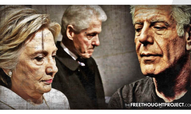 Before His Death, Anthony Bourdain Blasted 'Rapey' Bill Clinton, Exposed Hillary's Complicity