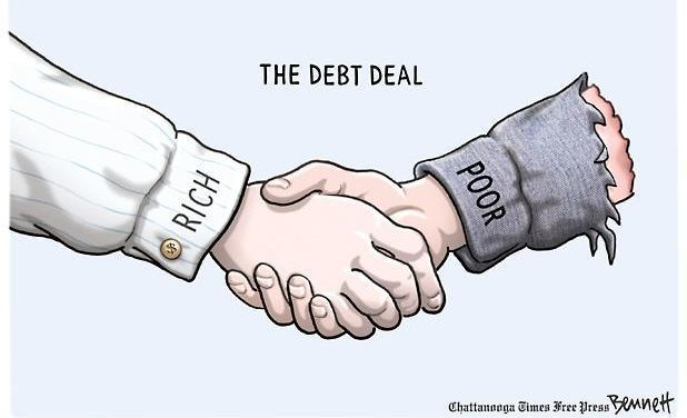 """Third-World America: The 'Bottom Half' """"Bolsters"""" The Economy By Going Into Debt"""