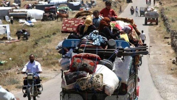 Syria: Russian-Backed Ceasefire Allows 28,000 To Return Home