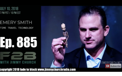 FADE to BLACK Jimmy Church w/ Emery Smith : Portals and Time Travel [AUDIO]