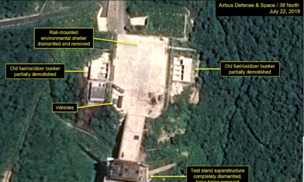 Proof Kim really IS dismantling his nuclear arsenal: Satellite images show the North Korean dictator's bomb factories lying ruined after his pledge to Trump