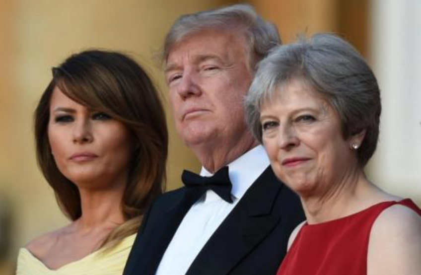 In Bombshell Interview, Trump Slams Theresa May Hours Ahead Of Meeting