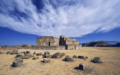 The Mysterious Flattened Mountaintop of Monte Alban, and its Ancient Pyramid City