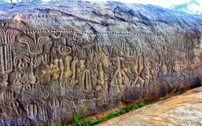 The Enigma of The Pusharo Petroglyphs—Depictions of A Cosmic Map?