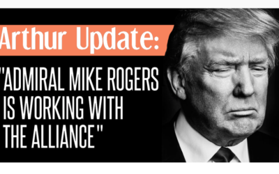 """ARTHUR UPDATE: """"Admiral Mike Rogers is working with the Alliance""""  [w/VIDEO]"""