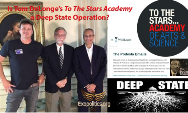 Dr. Michael Salla: Is Tom DeLonge's To The Stars Academy a Deep State Operation?