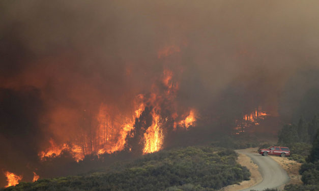 Record-Breaker: Fire Large as Major City Consuming Northern California (PHOTOS)