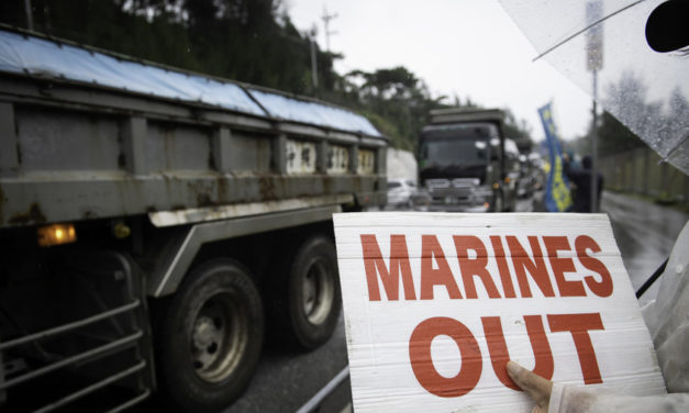 70,000 people protest US army base in Okinawa