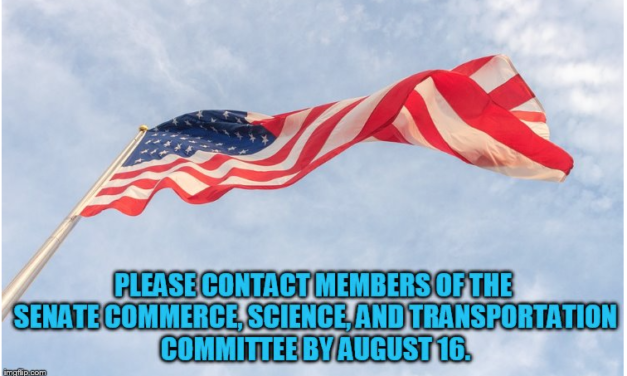 Who Ya Gonna Call Before August 16 to Complain about 4G and 5G Small Cell Towers Being Installed in Front of Homes, etc.? The Senate Commerce, Science and Transportation Committee (Contact Info Provided).
