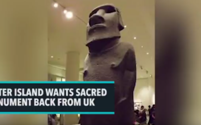 Easter Island Wants Sacred Monument Back From UK [VIDEO]