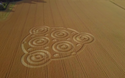 Etchilhampton CROP CIRCLE 11.8.2018 SUPERLONG EDIT4K [VIDEO]