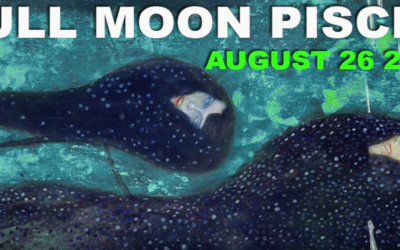 Full Moon August 2018 ~ Mopping Up by Darkstar Astrology