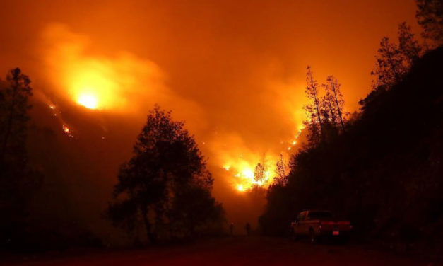 The Strangeness of the California Fires