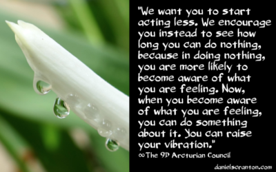 The Power of Non-Action ∞The 9th Dimensional Arcturian Council