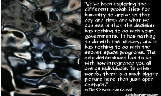 Timelines for Full Contact ∞The 9th Dimensional Arcturian Council