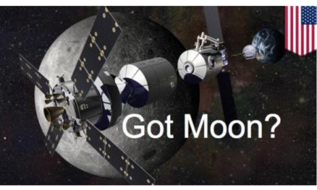 """NASA Reveals Plan For Permanent Moon Base: """"We Want Lots Of Humans In Space"""""""