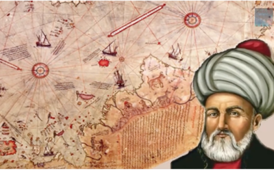 The Piri Reis Map Showing Pre-Ice Antartica is from texts at Least 6000 Years Old [VIDEO]