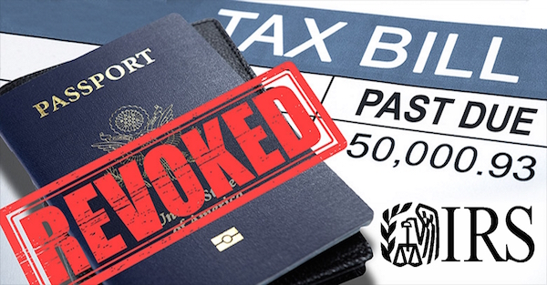 IRS to Revoke 362,000 Passports From US Citizens