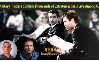 Dr. Michael Salla: Military Insiders Confirm Thousands of Extraterrestrials Live Among Us