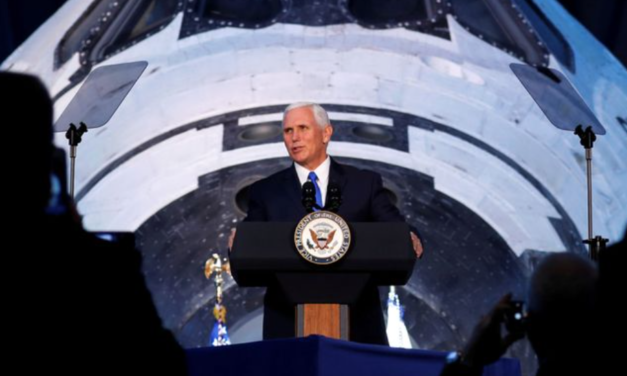 Defense Secretary James Mattis and Vice President Mike Pence Space Force Speech…