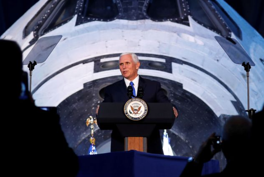 Defense Secretary James Mattis and Vice President Mike Pence Space ForceSpeech…
