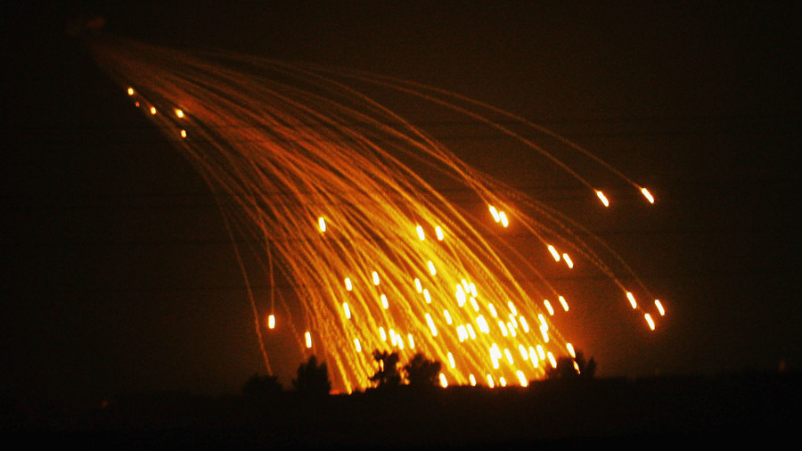 US jets strike Syrian town with banned white phosphorus bombs – Russian Defense Ministry