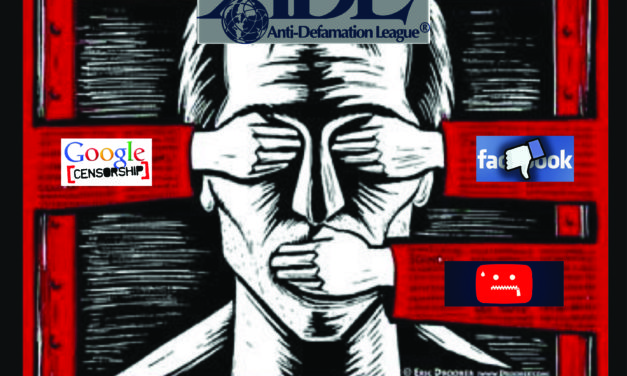 Anti-Defamation League, Facebook, Google & Youtube Appoint Themselves As Official Internet Censor