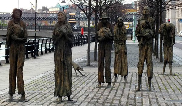 Britain's Genocidal Starvation of the Irish — or So-Called 'Potato Famine' — and Brave Resistance of Nationalist John Mitchel