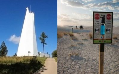 A Mystery Man dies not too far away from the Solar Observatory, New Mexico