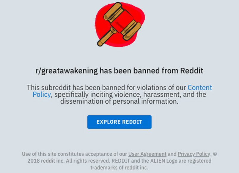 Reddit Bans QAnon Board: Are They Actually Trying To Accelerate The Great Awakening?