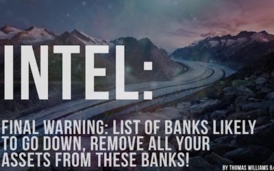 Final Warning: List of Banks likely to go down, remove all your assets from these Banks! [VIDEO]