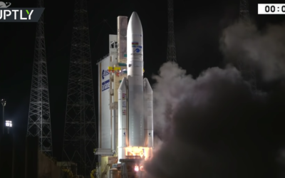 Europe's Ariane 5 rocket launched for the 100th time from French Guiana [VIDEO]