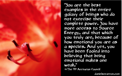 Suppressed Emotions & Power ∞The 9th Dimensional Arcturian Council
