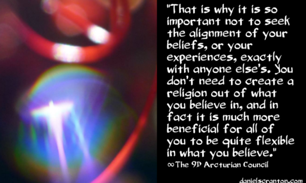 No Need for a New Religion ∞The 9th Dimensional Arcturian Council