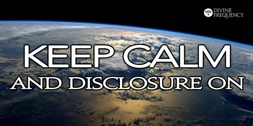 Breaking News Everywhere: Disclosure Community Discernment Call