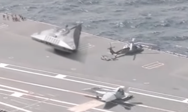 Debunked: Apparent Footage of 'UFO' Aboard US Aircraft Carrier