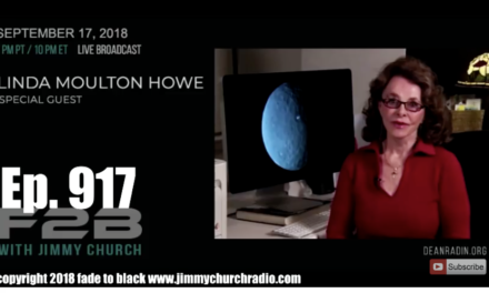 FADE to BLACK Jimmy Church w/ Linda Moulton Howe on the FBI Closure of the Solar Observatory [AUDIO]