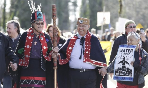 First Nations Celebrate Win Against Trans Mountain Pipeline Expansion