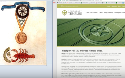 "Crop Circle Confirms ""Timeline"" Of Earth's Pole Reversal. Naughty Beaver [VIDEO]"