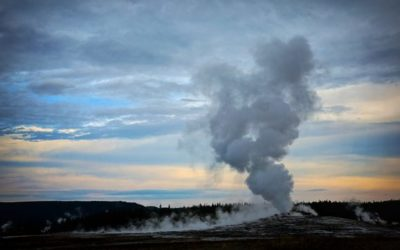 Geyser Launching Hot Rocks Forces Partial Yellowstone Closure