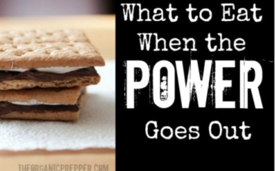 What to Eat When the Power Goes Out