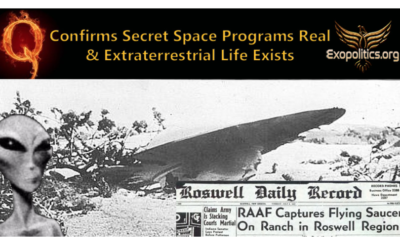 Q Confirms Secret Space Programs Real & Extraterrestrial Life Exists