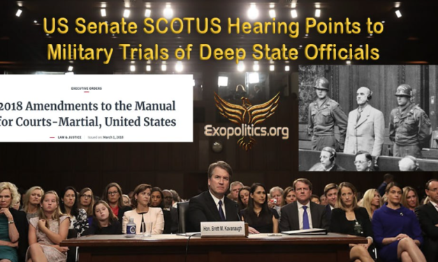 US Senate SCOTUS Hearing Points to Military Trials of Deep State Officials
