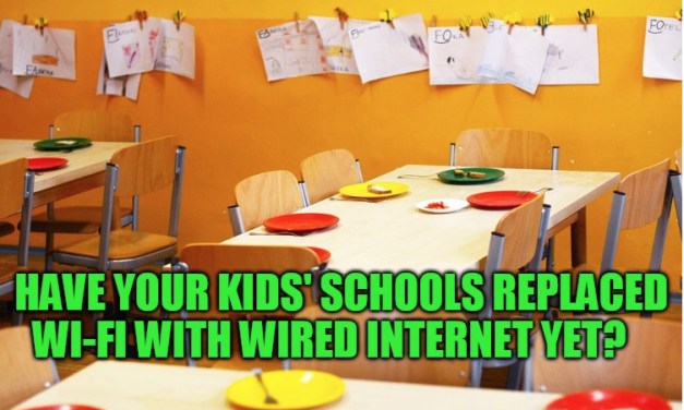 "More Schools Are Converting Back to Safer Wired Internet. Free Documentary ""Wi-Fried"" Details Why"